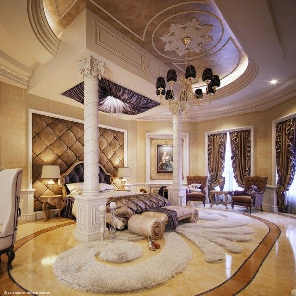 13 Glam Luxury Bedroom Design Ideas