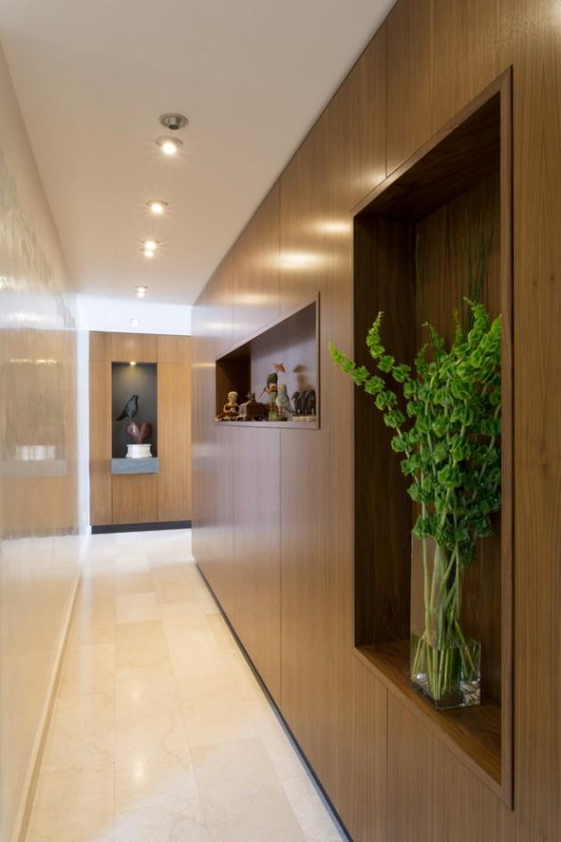 Mid Century Minimalist Living Room