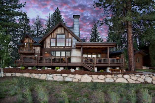15 Snug Rustic Home Exterior Designs For The Cold Winter Days