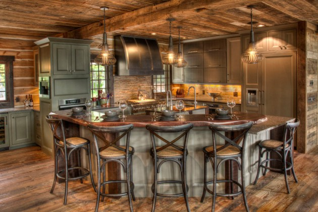 15 Warm Rustic Kitchen Designs That Will Make You Enjoy