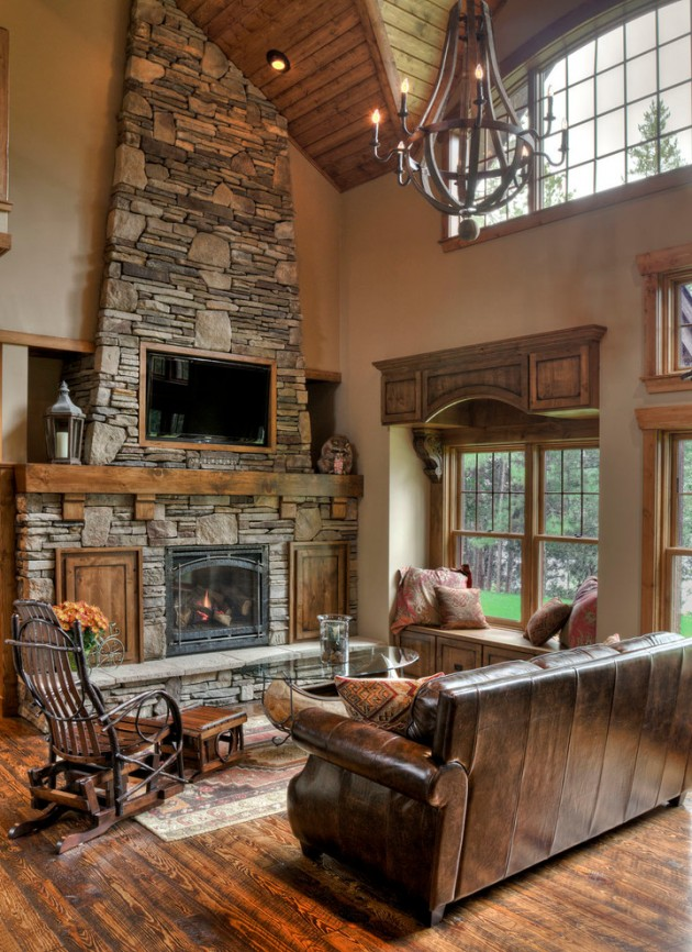 20 Cozy Rustic Living Room Designs To Ensure Your Comfort