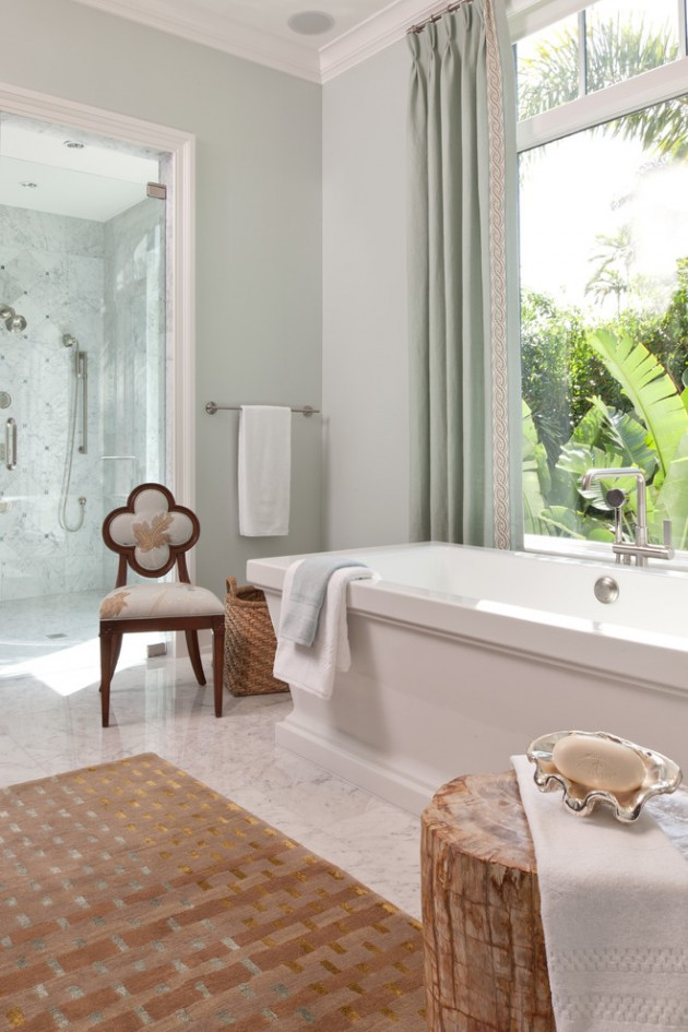 20 Relaxing Tropical Bathroom Designs To Make You Feel