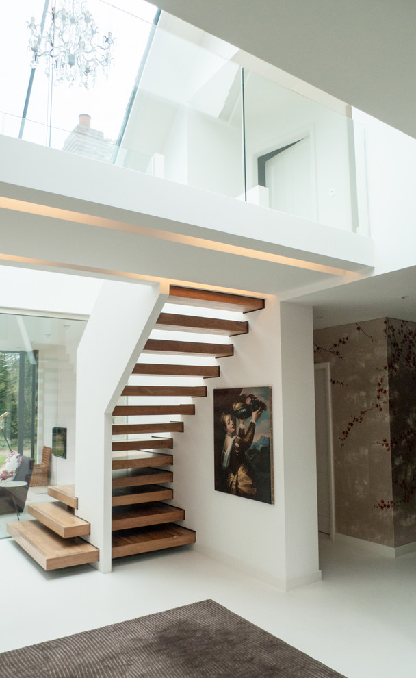 16 Memorable Contemporary Staircase Designs That Will
