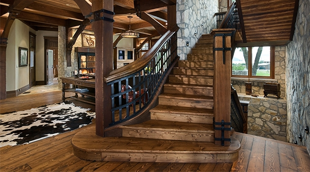 17 Splendid Rustic Staircase Designs To Inspire You With Ideas   Rustic Handrails For Stairs   Basement   Wooden   Banister   Metal   Deck