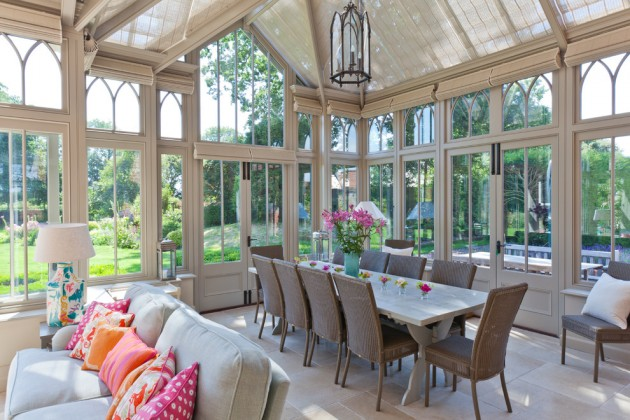 15 Serene Garden Room Designs To Relax In During The Hot