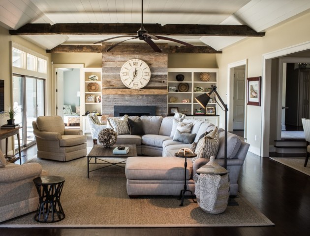 15 Wonderful Transitional Living Room Designs To Refresh