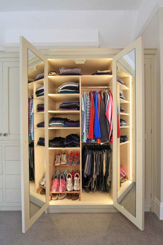 20 Phenomenal Closet & Wardrobe Designs To Store All Your ...