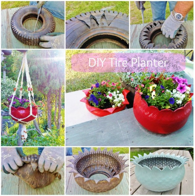 21 Cheap Easy Handmade Planters To Beautify Your Garden