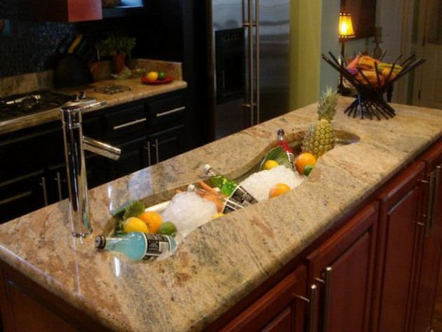 Mini Kitchens Island Sink