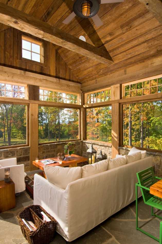 16 Serene Rustic Conservatory Designs For The Garden
