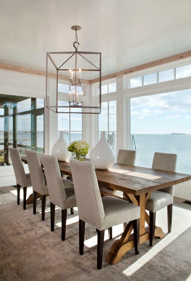 22 Unbelievable Coastal Dining Room Designs To Brighten Up