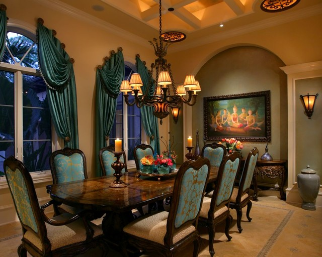 20 Sophisticated Mediterranean Dining Room Designs To Show