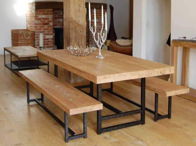 16 Fascinating Wooden Dining Table Designs For Warm