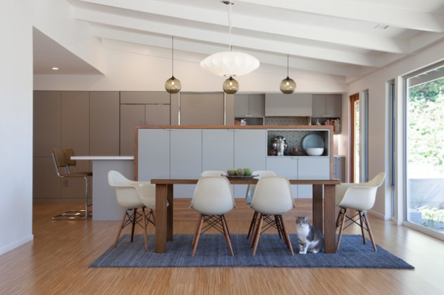 15 Charming Mid Century Modern Dining Room Designs For A