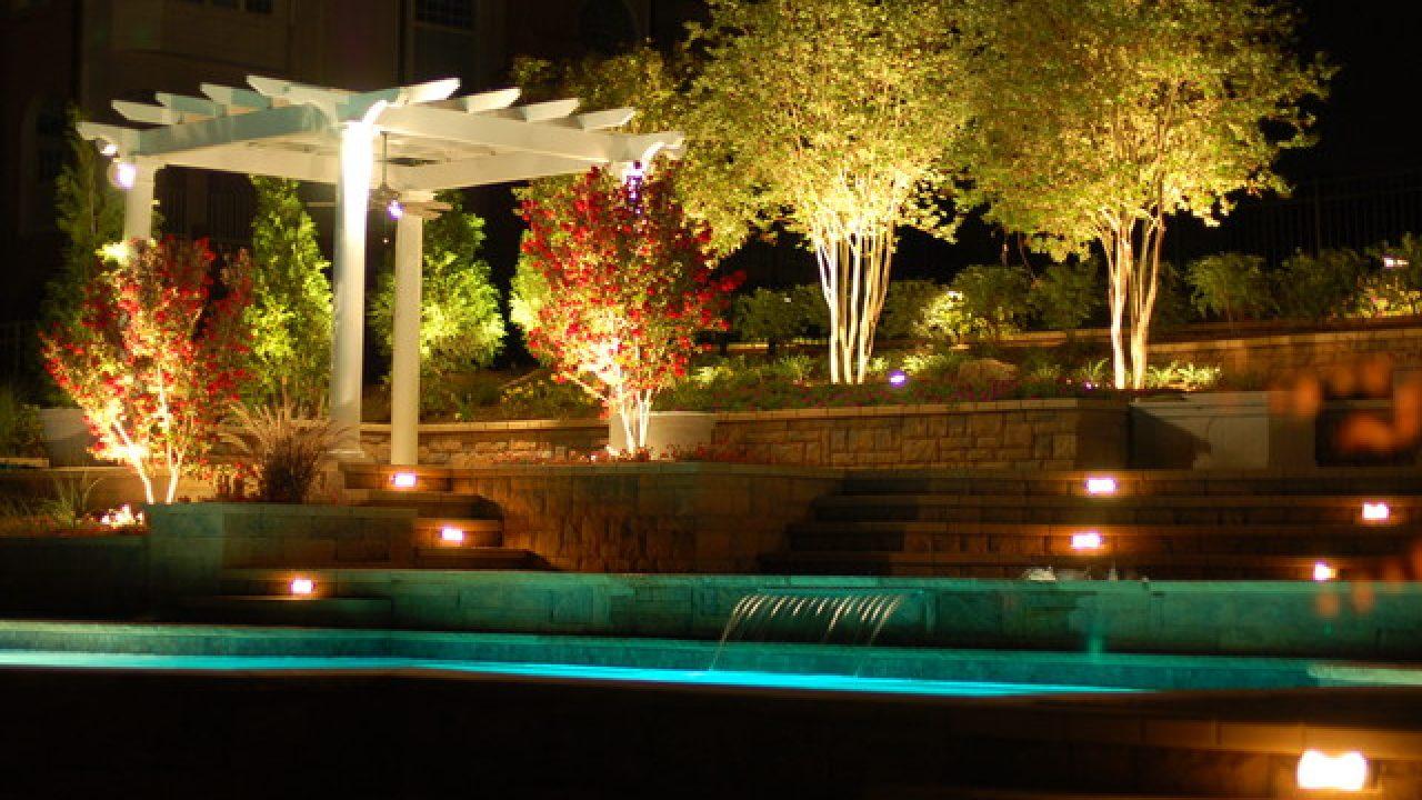18 breathtaking tree lighting design