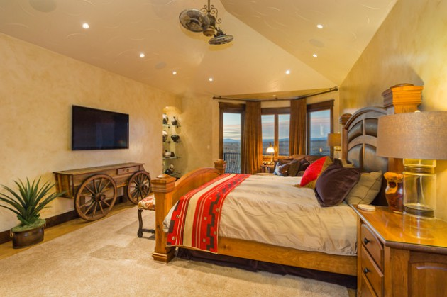 17 Relaxing Southwestern Bedroom Designs That Will Ensure