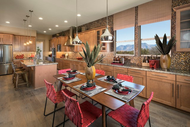 17 Warm Southwestern Style Kitchen Interiors You Re Going