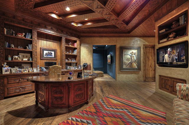 16 Encouraging Southwestern Home Office Designs You Ll