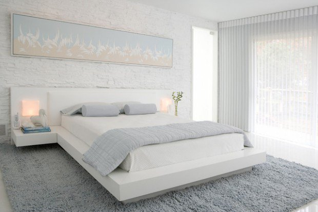 16 Delightful White Bedroom Designs That Abound Elegance