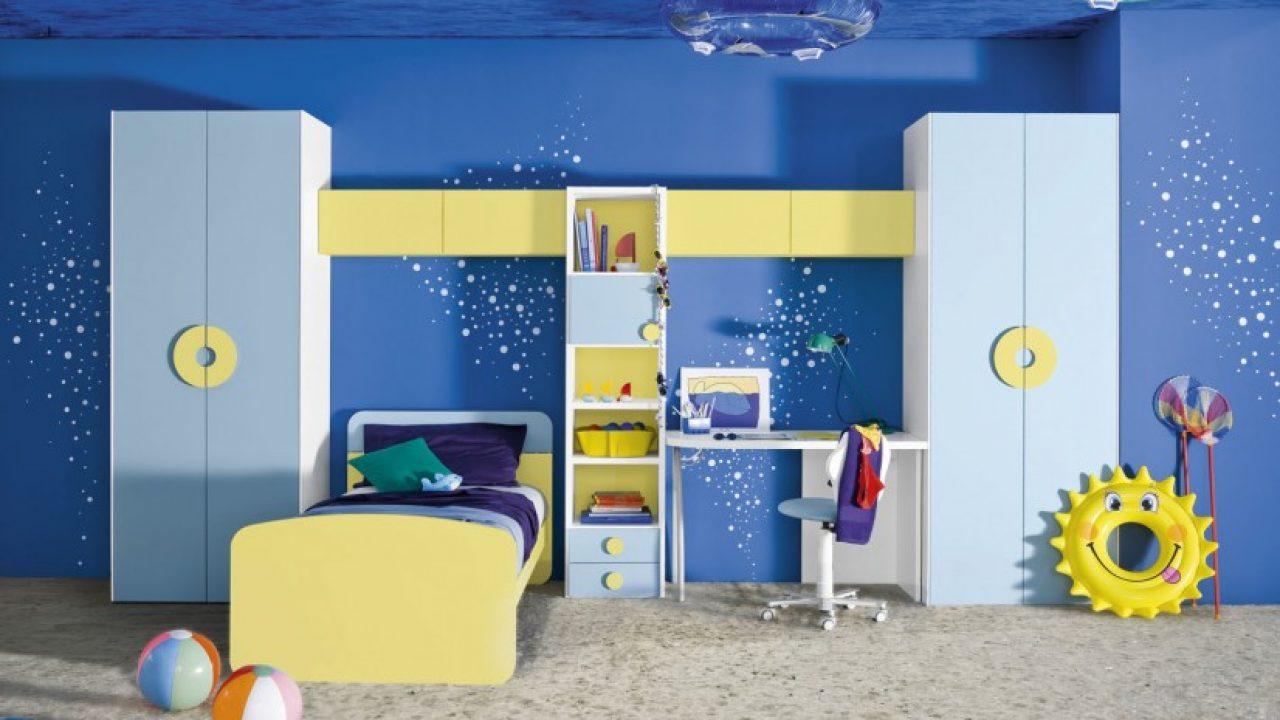 16 Joyful Child S Room Designs With Blue Yellow Tones
