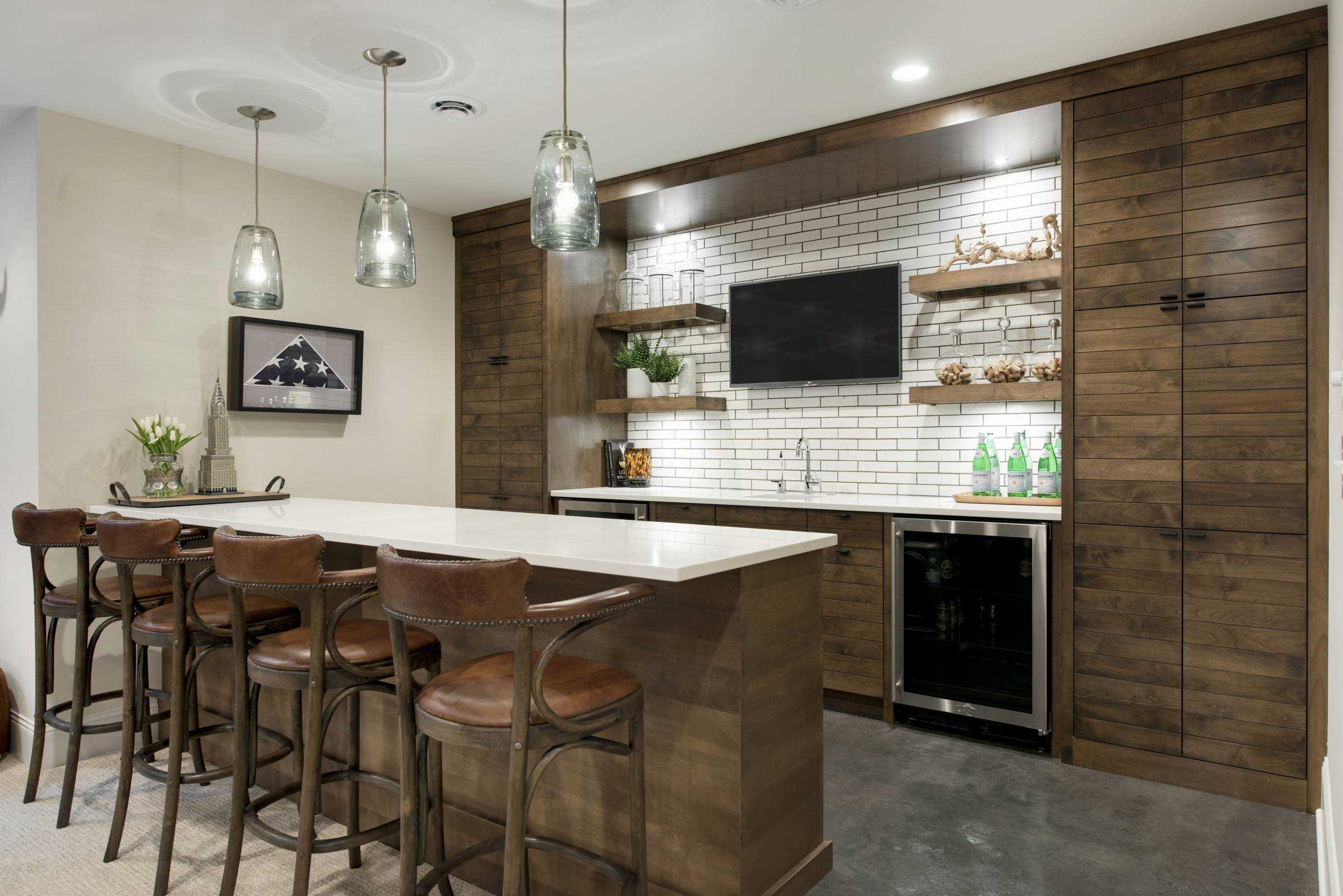 Best Kitchen Gallery: 15 Distinguished Rustic Home Bar Designs For When You Really Need of Design A Home Bar  on rachelxblog.com
