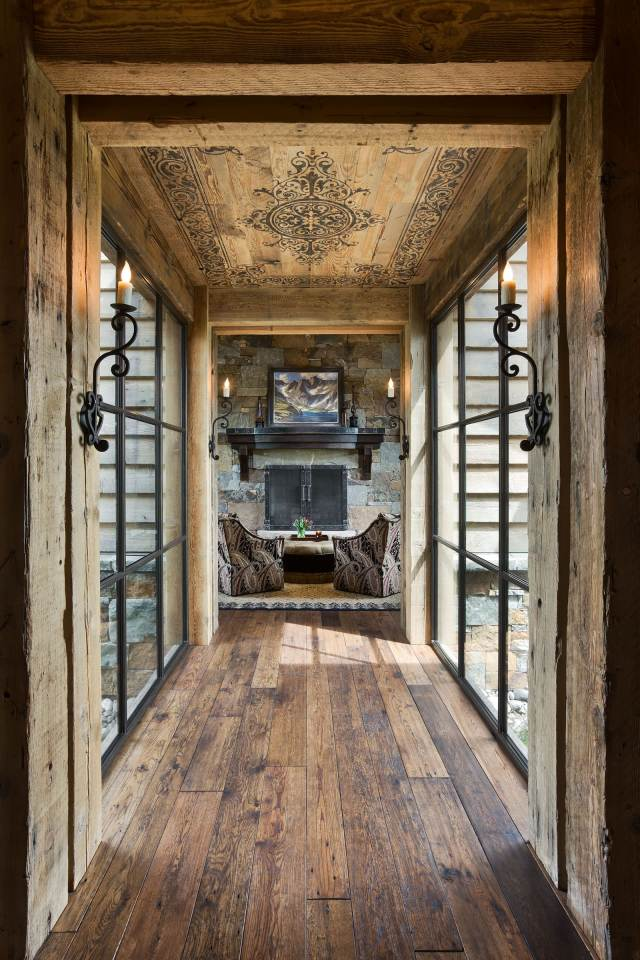 15 Great Rustic Hallway Designs That Will Inspire You With ...
