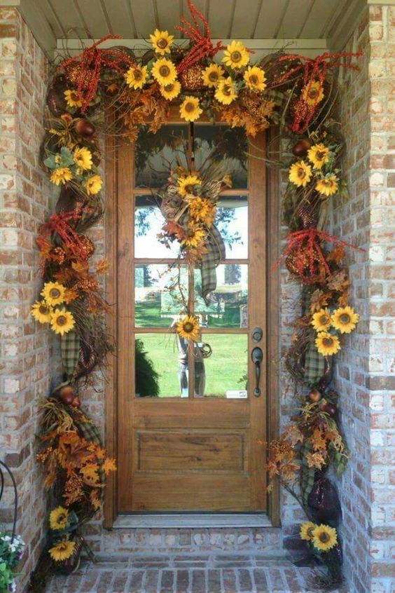 18 Fascinating Outdoor Fall Decorations That You Shouldnt