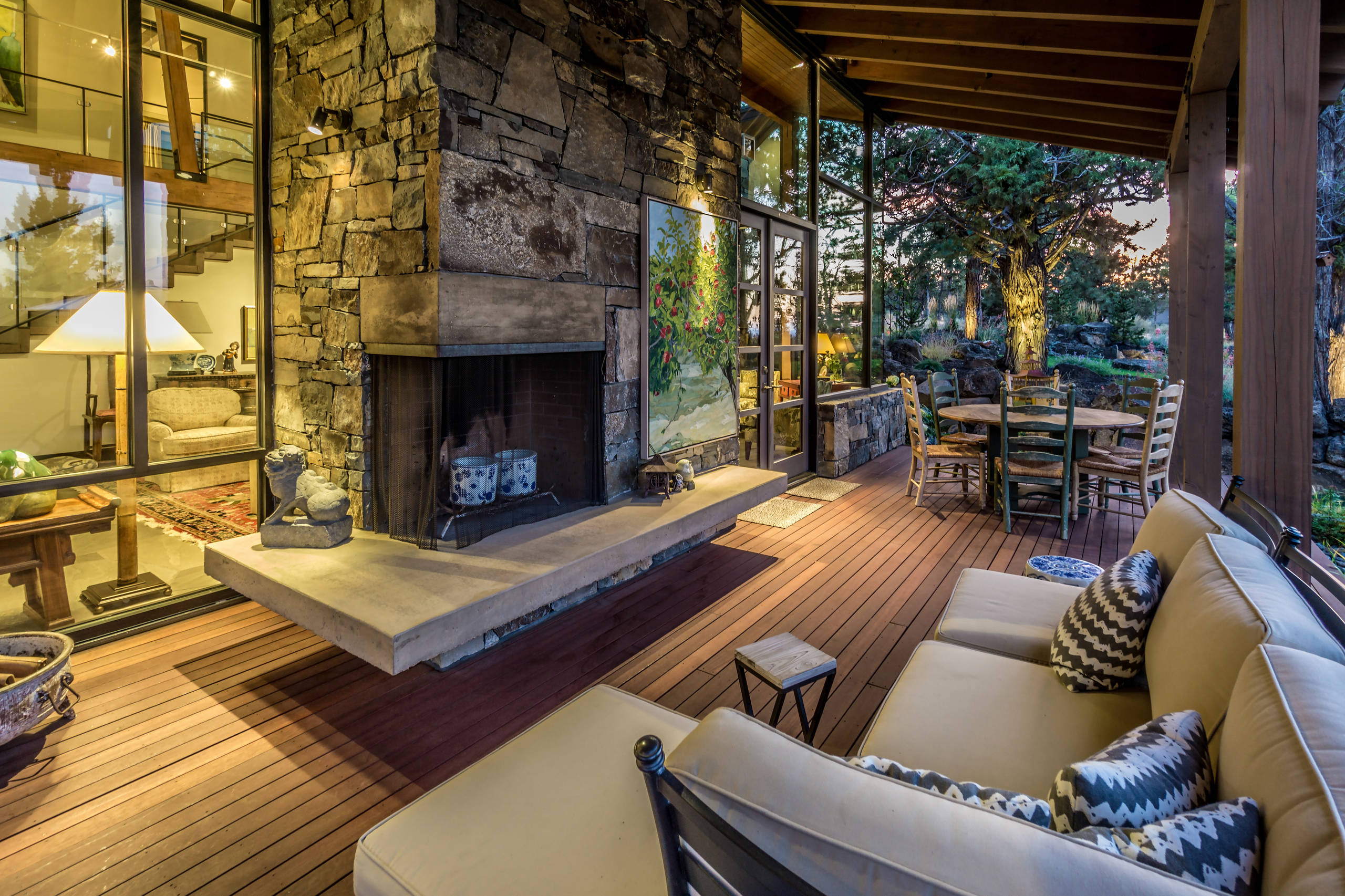 Best 43 Inspiration Wonderful Rustic Deck Designs That Will Enhance Your Outdoor Living