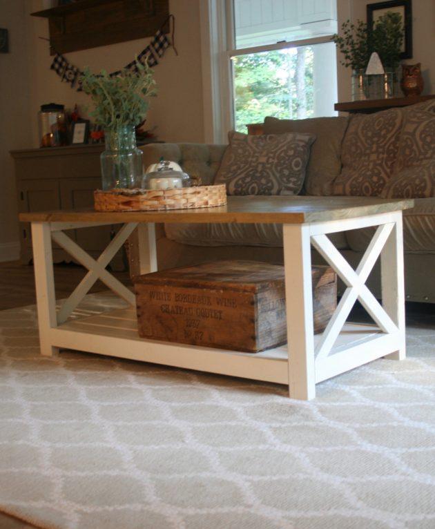 15 Classy Handmade Farmhouse Furniture Designs You Could Diy