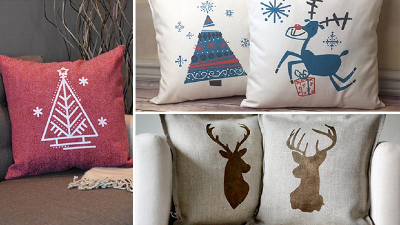 15 charming handmade christmas pillow