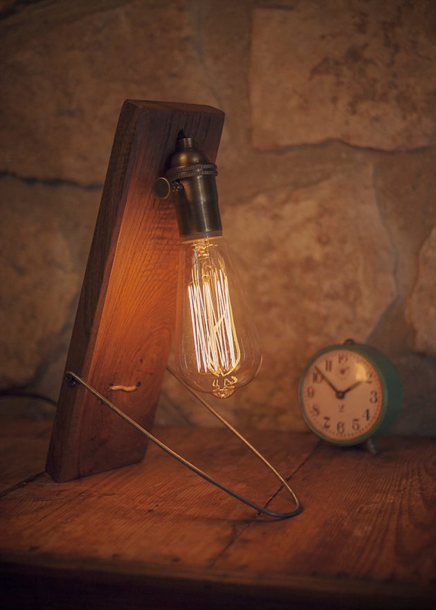 16 Incredible Handmade Reclaimed Wood Lighting Designs You