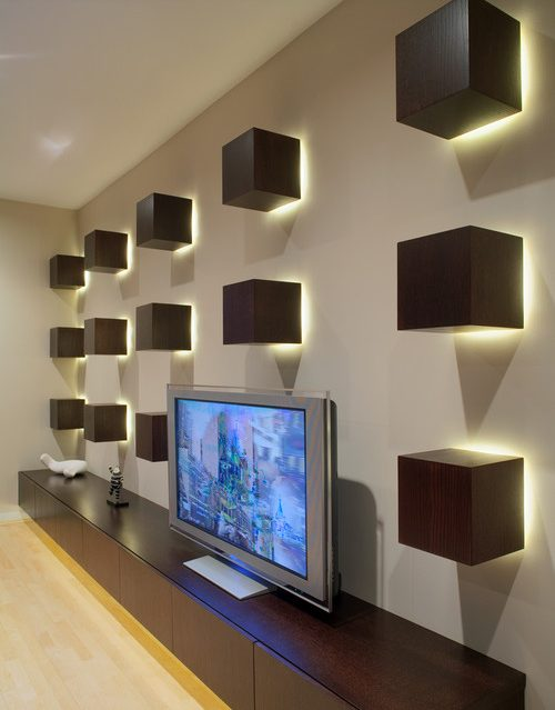 14 Alluring Wall LED Light Designs To Enhance Your ...