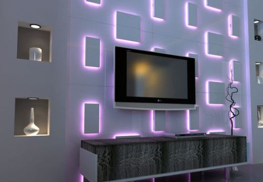 14 Alluring Wall LED Light Designs To Enhance Your Interior Design