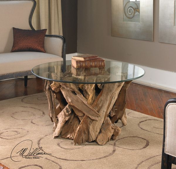 Driftwood Coffee Table Designs  Stylish Addition To Every Trendy Living Room