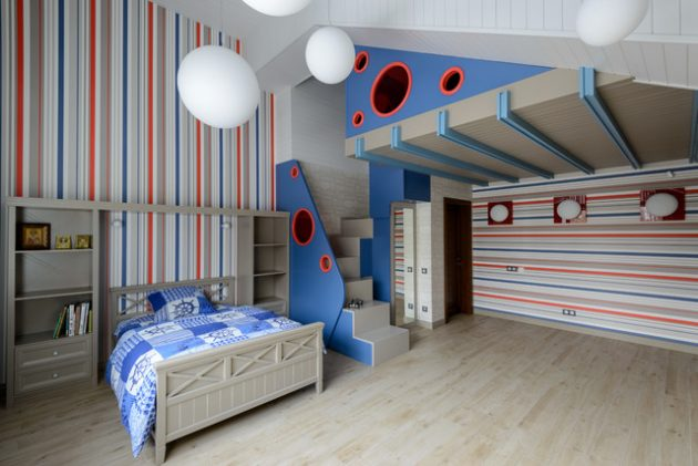 15 Beautiful Contemporary Kids Room Designs That Will
