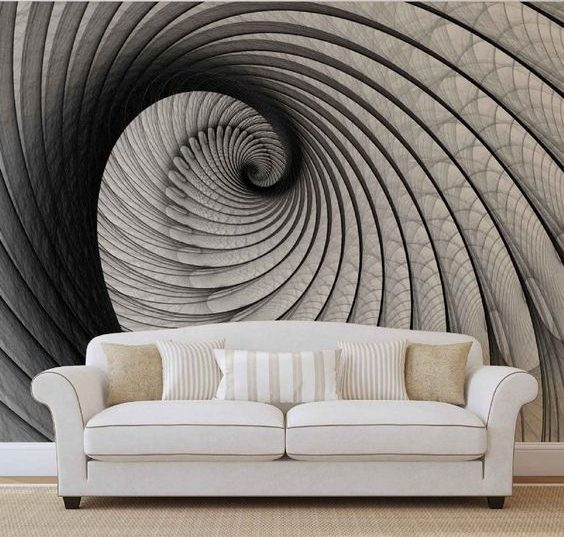 15 Outstanding Wall Art Ideas Inspired By Optical Illusions