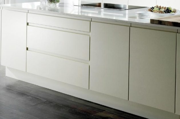 Handleless Kitchen Cabinets To Enhance The Look Of Your