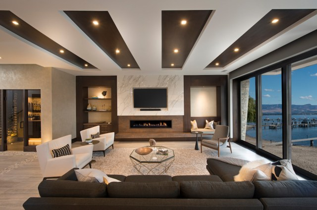 15 Awesome Living Room Designs Defined By Painted Walls