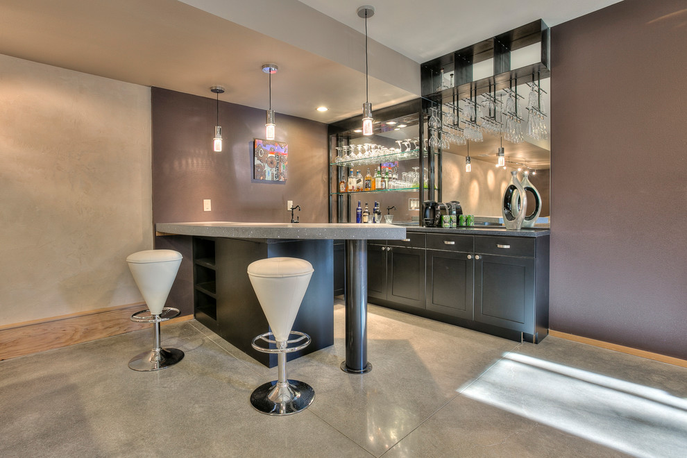 15 Stupendous Modern Home Bar Designs That Will Make Your