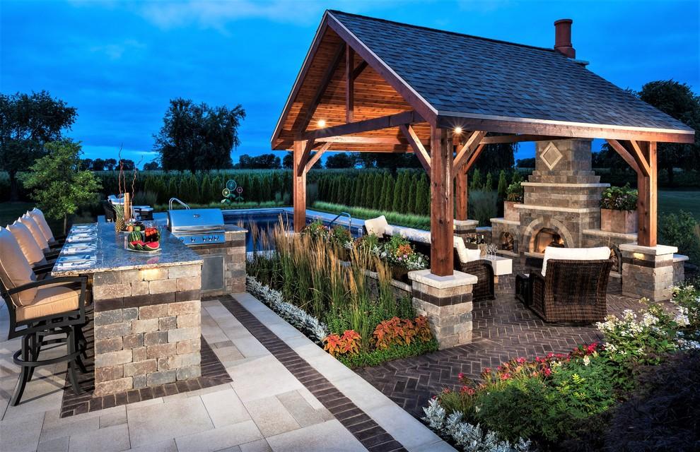 15 Incredible Rustic Patio Designs That Make The Backyard