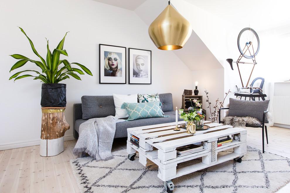 18 Elegantly Simple Scandinavian Living Room Designs