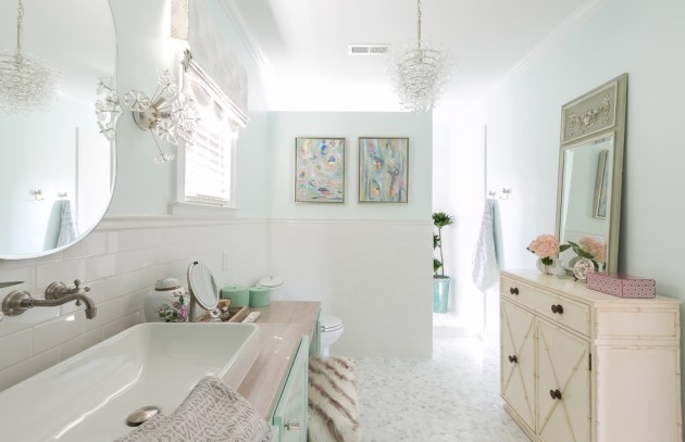 16 Charming Shabby Chic Bathroom Interiors With A Vintage Touch