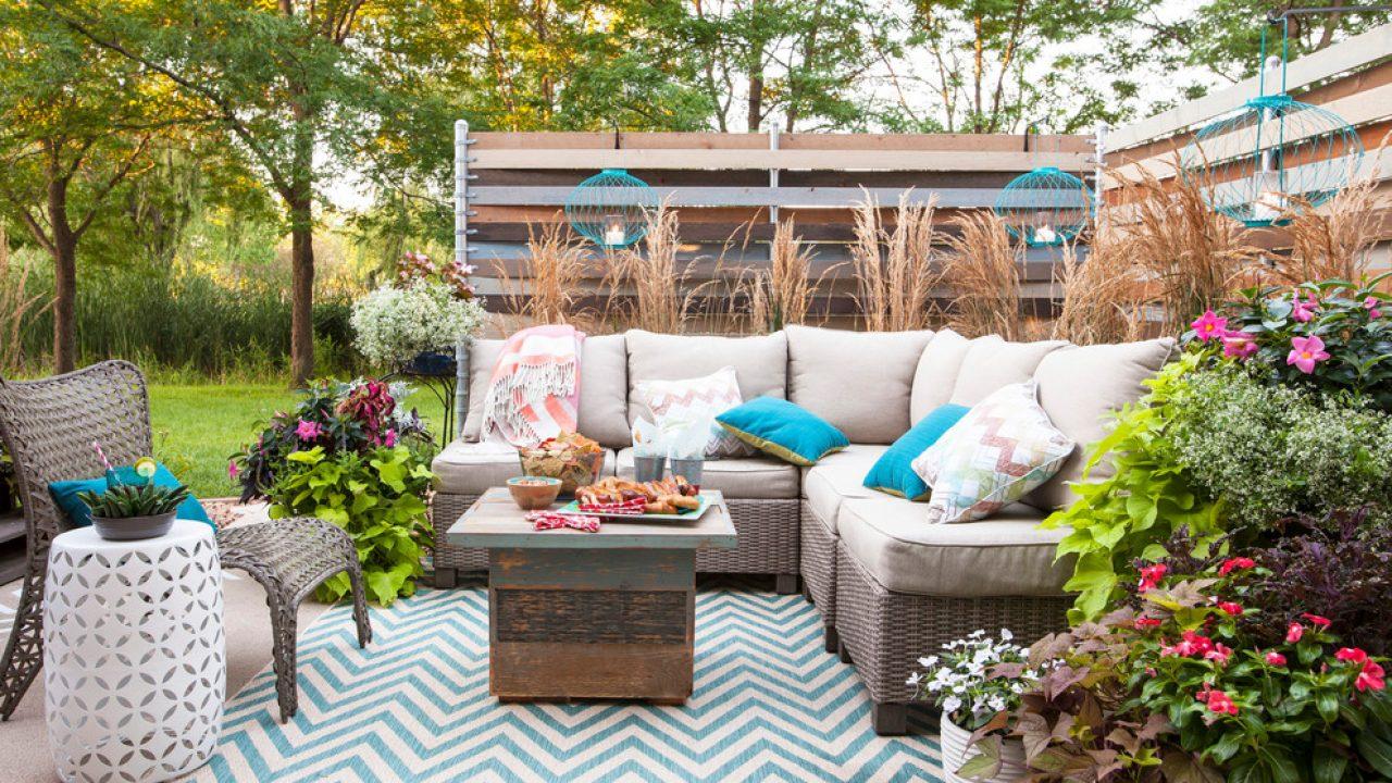 16 enchanting shabby chic patio designs
