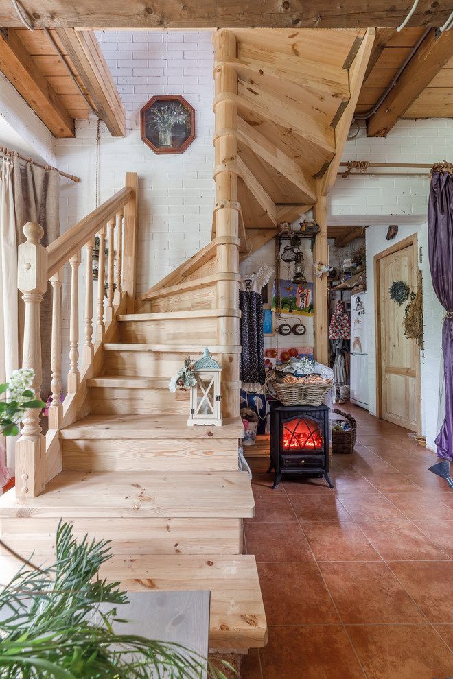 16 Stunning Farmhouse Staircase Designs That Will Blow