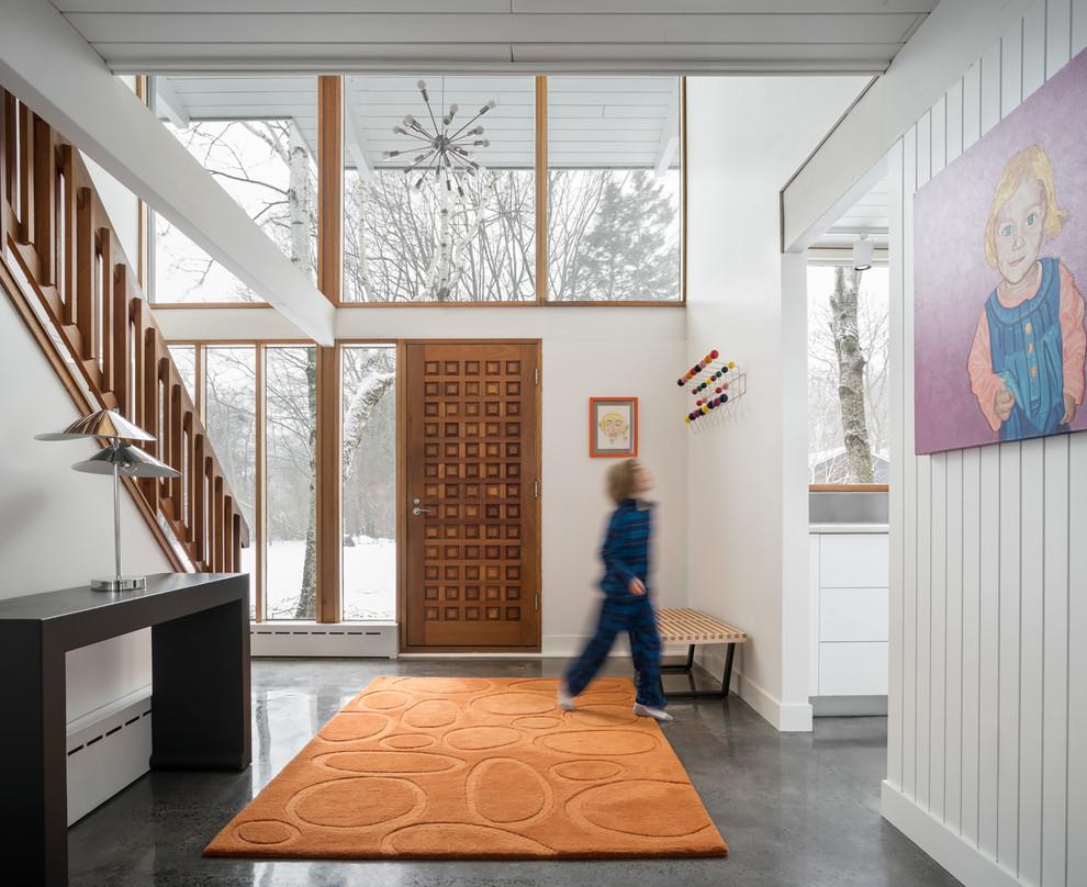 17 Stunning Mid Century Modern Foyer Interiors You Deserve