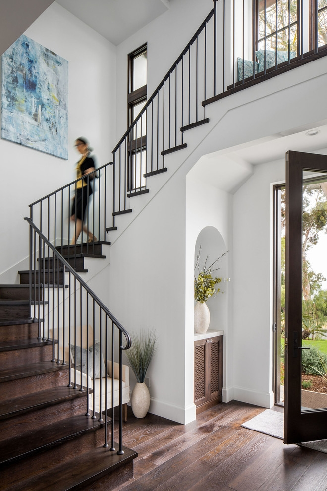 20 Astonishing Mediterranean Staircase Designs Your Home Needs   Stairway Designs For Homes   Limited Space   Entryway   Duplex India House   Step Side Wall   Traditional