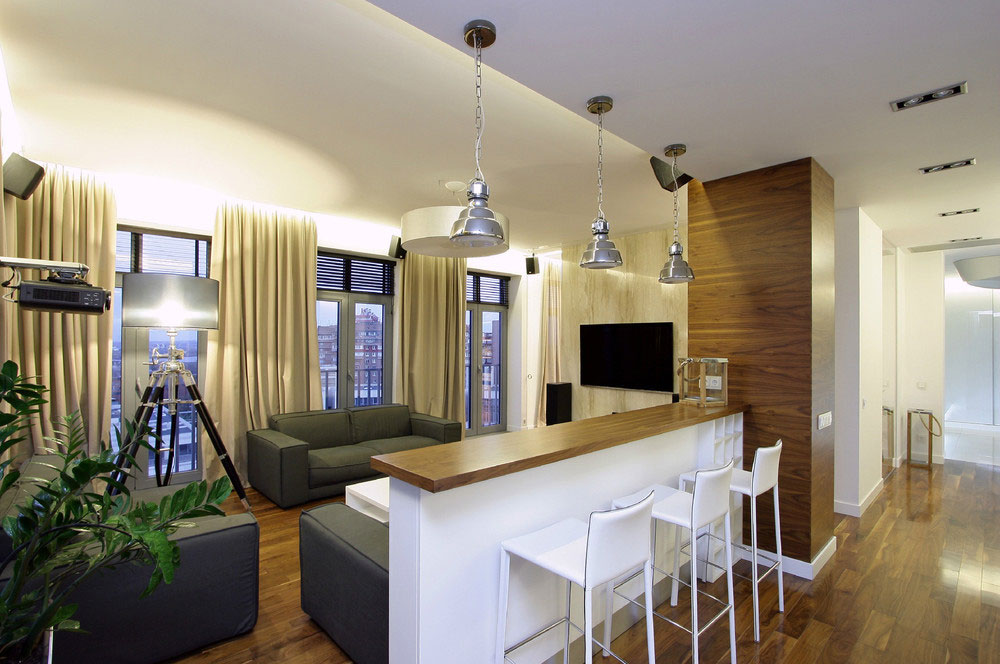 Small Apartment Designed To Perfection By SVOYA Studio