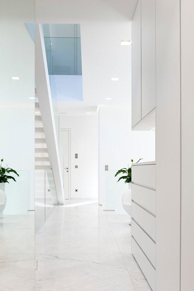 White hallway