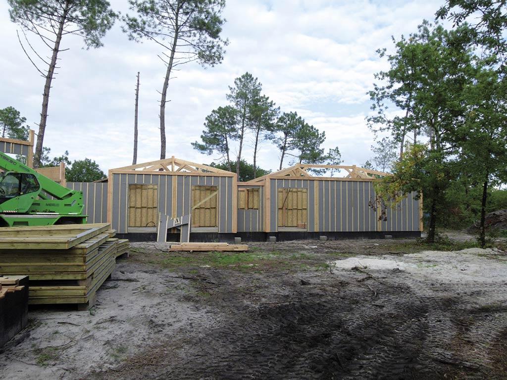 Fondations maison bois