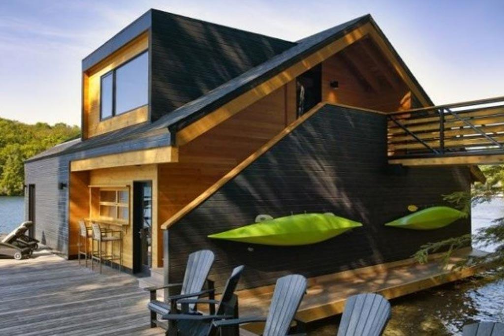 Un Vieux Hangar Transforme Architecture Bois Magazine Infos Sur La Construction Et Maisons En Bois